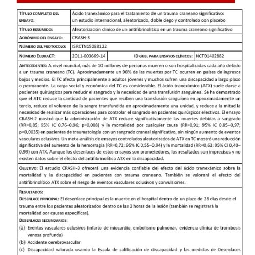 Protocol Summary v2.2 Spanish